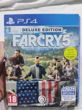 Far cry 5 Deluxe Edition Playstation 4
