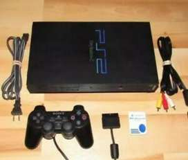 I'M SELLING PLAYSTATION 2 COMPLETE WITH 120gb HARD DRIVE