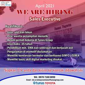 Buka Lowongan Salesman / Salesgirl Tunas Toyota Kebayoran Lama
