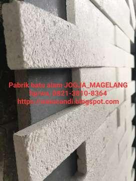 Limestone classic tempel dinding tembok asli bahan batuan alam natural