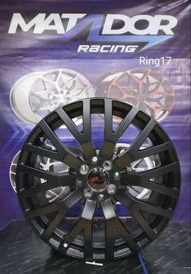 velg mobil hsr ring 17x7,5 britain smb matador racing