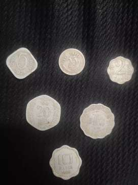Old coins set