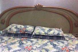 Bed, side tables and dressing table