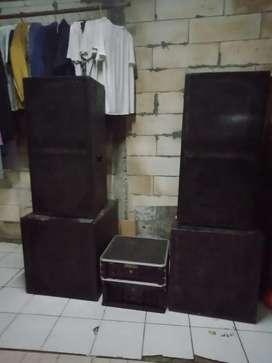 Sound system speaker buat dangdutan