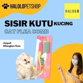 Sisir Kutu Kucing Anjing Cat Dog Flea Comb