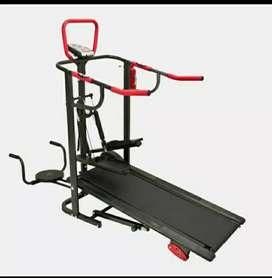 Alat fitnes treadmill manual 5 fungsi promo