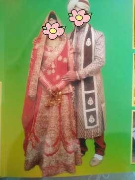 Bridal lehnga