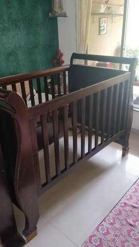 Imported Teak wood cot