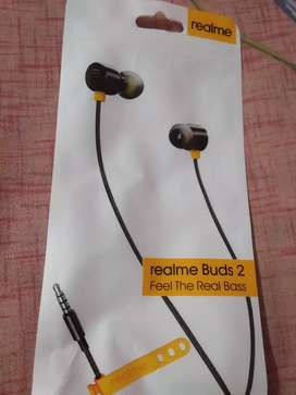 New Realme Buds 2 EARPHONE