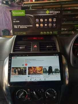 DIJUAL TV ANDROID 10 INCH MEREK ENIGMA RAM 2 GB PLUS PASANG