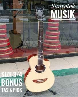 Gitar Akustik 3/4 Model APX T2 Natural Glossy