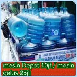 Usaha Air Galon : depot 3 pengisian 10jt, bagi yg Minat