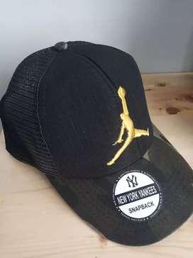Topi trucker baseball camo Air Jordan bordir homage New Era size L