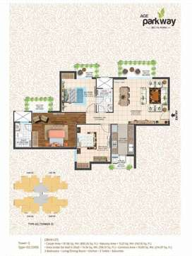 3.5BHK Flat for Sale in Ace Parkway in Noida Sector 150
