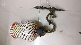 Wall light brass