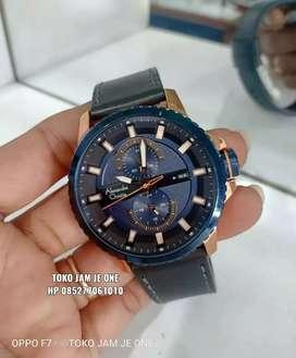Alexandre Christie AC6507 Rose Gold Blue