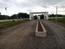 48 acres mega gated community open plots for sale at vizag in Duvvada