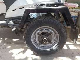 Side Wheels for Activa