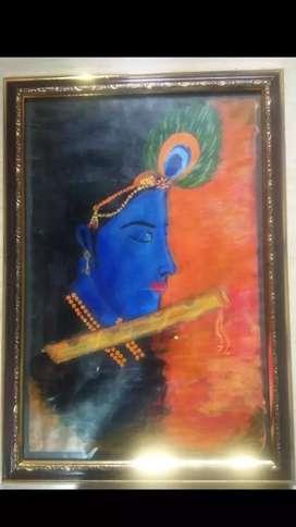 Latest painting (size 31cm ×46cm)