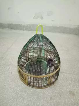 Grey color titter cage for sale