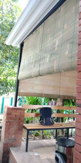 Jual tirai Bambu wong lundo