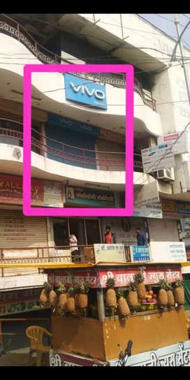 200 sq.ft shop at prominent location for sale