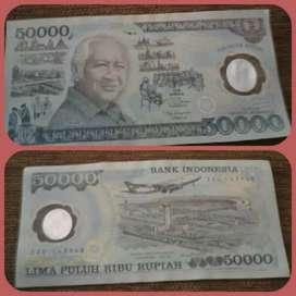 Uang Plastik Asli Soeharto Penerbitan Khusus 1993