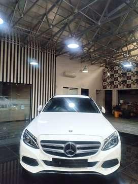 [KM28rb] Mercedes Benz C 200 AVG 2016 Putih - Mercy C200 AVG 2016