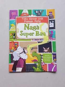Buku Naga super bau