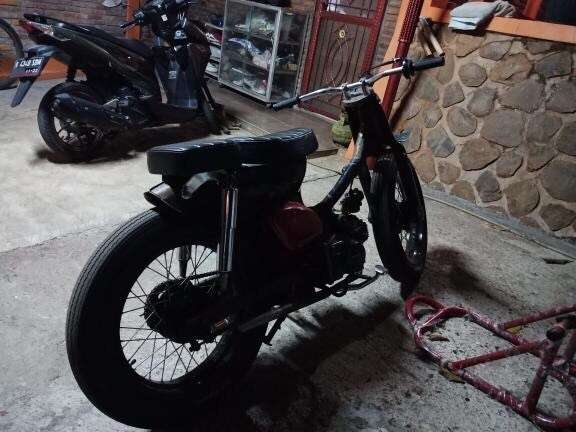 Jual motor custom street cub 0
