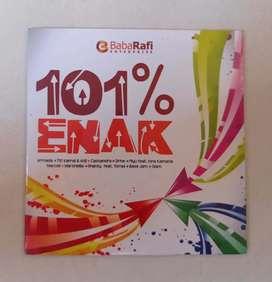 CD 101% ENAK KOMPILASI :  ARMADA, DRIVE, PIYU, SHANTY,  MARCELL DLL.