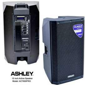 Speaker Monitor Aktif 15 Inc ASHLEY ACT600PRO 15inch CLASS H 350watt