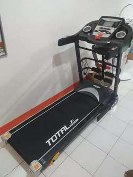 treadmil electric terbaru total 8600 bonus dambel//09.01