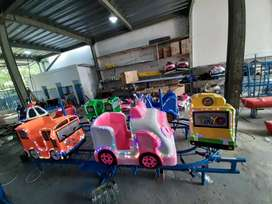 Kereta odong baru odong full mobil DAP robocar fiber