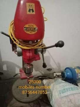 Silliper cutting masine