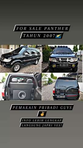 Isuzu panther grand touring 2007 black