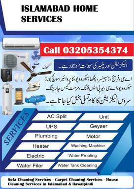 Ac Sale & Installation / Ac Gas Filling & Repair in Islamabad