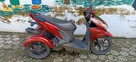 Jual Honda Vario 2013 roda tiga modifikasi u difable