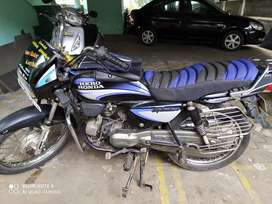 Good mileage and good condition bike