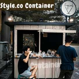 DISKON TAHUN BARU | BOOTH SEMI CONTAINER | CONTAINER CAFE BAR RESTO |