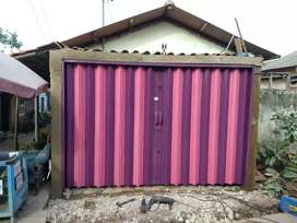 Folding gate / Rolling Door besi berkualitas