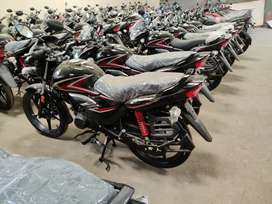 New Honda CB shine low down payment 15000 only