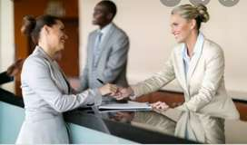 Urgent requirement in receptionist ranchi