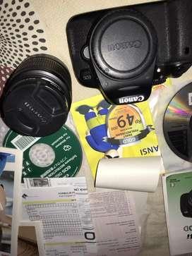 Canon 650 D Special Murah BU Fullset bgt