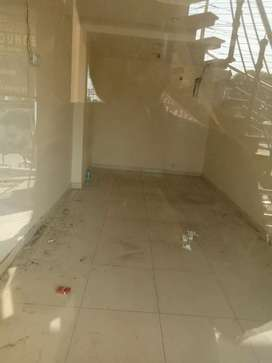 A shope available for rent  at very prime location Tilled Floor