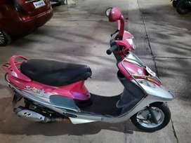 Pink TVS Scooty Pep+ at 25000 in good condition best suited for ladies