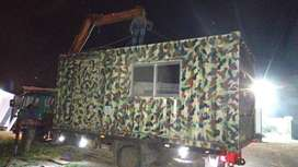 Army Bunk Houses/army cabins/ rooms