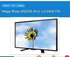 Televisi sharp 24 inchi