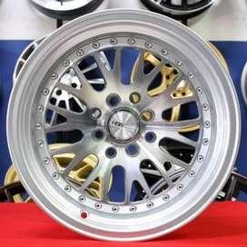 velg type CLASSIC L215 HSR Ring.15 Lebar.8-9 PCD.4X100-4X114,3 ET.30-2
