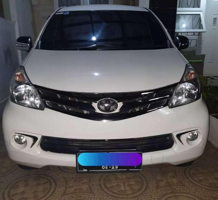 Toyota Avanza Putih No pol Ganjil 0